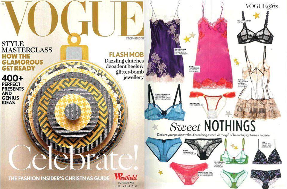 Claudette in Vogue Dec issue
